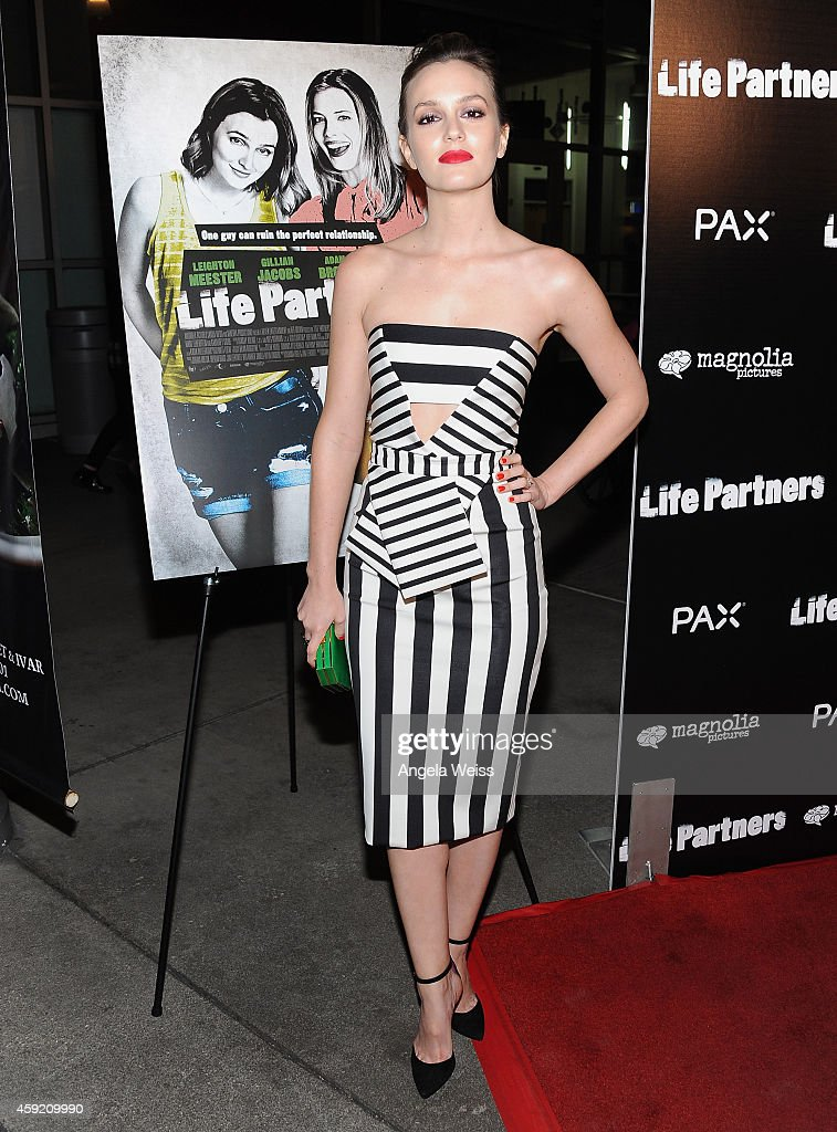 Actress Leighton Meester arrives at the premiere of Magnolia Pictures' 'Life Partners' at ArcLight Hollywood on November 18, 2014 in Hollywood, California.