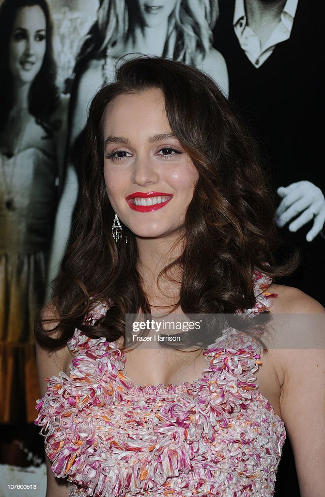 Actress Leighton Meester arrives at the screening of Screen Gems' 'Country Strong' at The Academy of Motion Picture Arts & Sciences on December 14, 2010 in Beverly Hills, California.