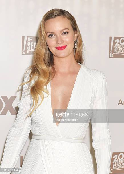 Actress Leighton Meester attends FOX and FX's 2017 Golden Globe Awards after party at The Beverly Hilton Hotel on January 8 2017 in Beverly Hills...