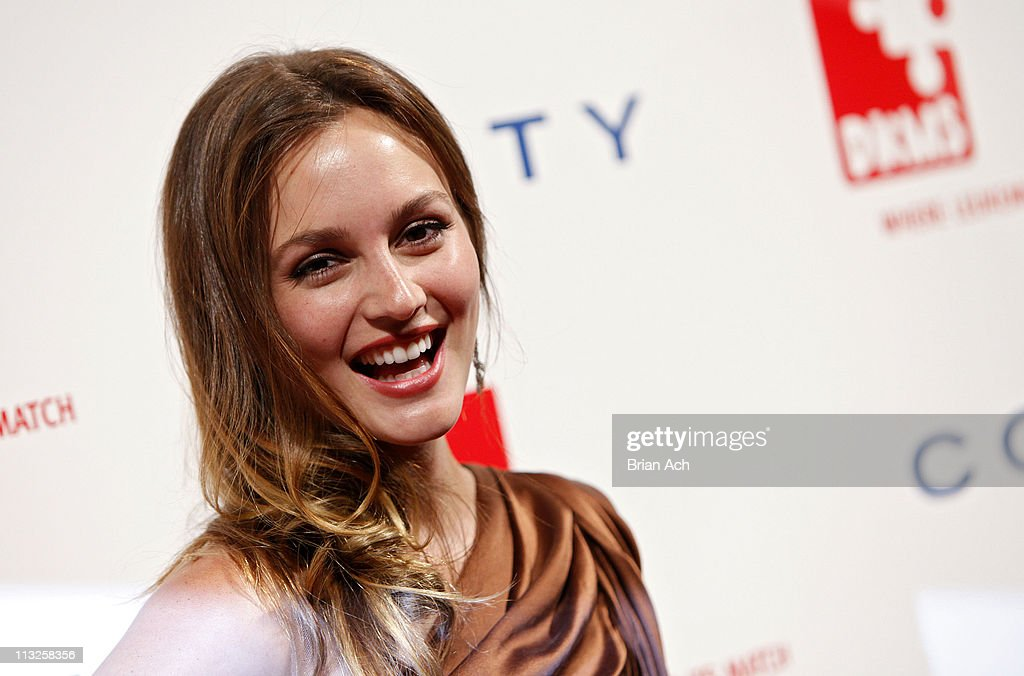 Actress Leighton Meester attends the 5th annual DKMS Gala at Cipriani Wall Street on April 28, 2011 in New York City.