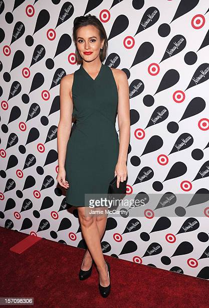 Actress Leighton Meester attends the Target Neiman Marcus Holiday Collection launch event on November 28 2012 in New York City