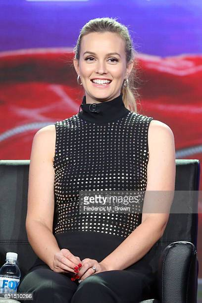 Actress Leighton Meester of the television show 'Making History' speaks onstage during the FOX portion of the 2017 Winter Television Critics...