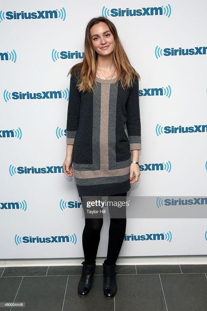 Celebrities Visit SiriusXM Studios - December 5, 2014