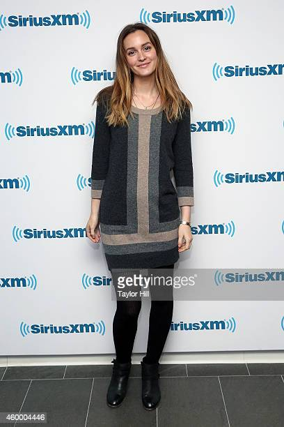 Actress Leighton Meester visits the SiriusXM Studios on December 5 2014 in New York City