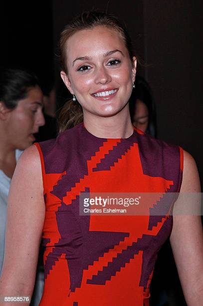 Actress Leighton Messter attends a screening of 500 Days of Summer hosted by the Cinema Society with Brooks Brothers Cotton at the Tribeca Grand...