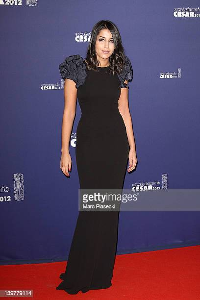 Actress Leila Bekhti attends the 37th Cesar Film Awards at Theatre du Chatelet on February 24 2012 in Paris France