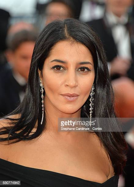 Actress Leila Bekhti attends the 'Cafe Society' premiere and the Opening Night Gala during the 69th annual Cannes Film Festival at the Palais des...