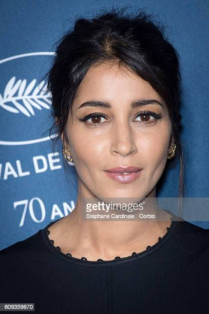 Actress Leila Bekhti attends the 'Cannes Film Festival 70th Anniversary Party' at Palais Des Beaux Arts on September 20 2016 in Paris France