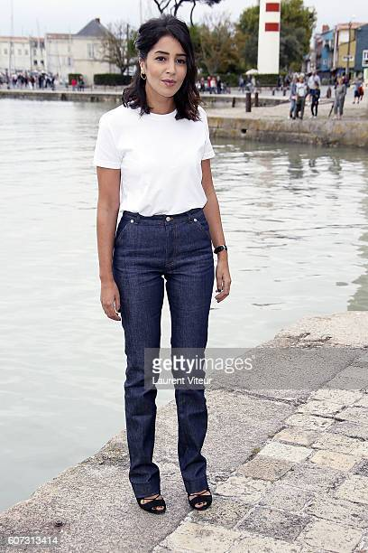Actress Leila Bekhti attends the 'Jour Polaire' Photocall during the 18th Festival of TV Fiction on September 17 2016 in La Rochelle France