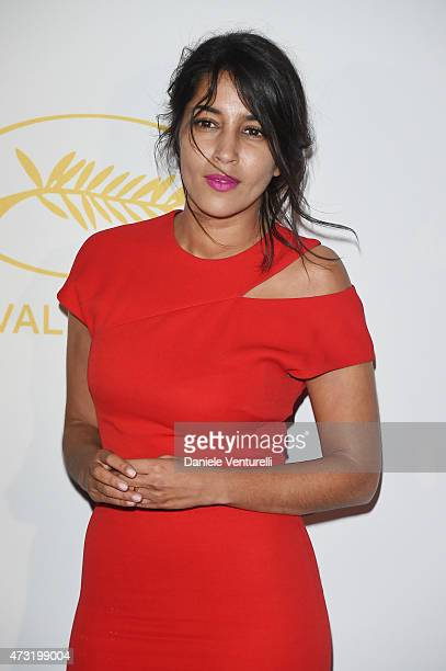Actress Leila Bekhti attends the opening ceremony dinner during the 68th annual Cannes Film Festival on May 13 2015 in Cannes France