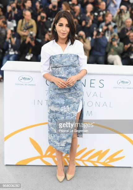 Actress Leila Bekhti attends the photocall for 'Sink Or Swim ' during the 71st annual Cannes Film Festival at Palais des Festivals on May 13 2018 in...