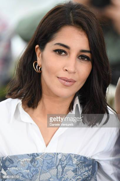 Actress Leila Bekhti attends the photocall for the Sink Or Swim during the 71st annual Cannes Film Festival at Palais des Festivals on May 13 2018 in...