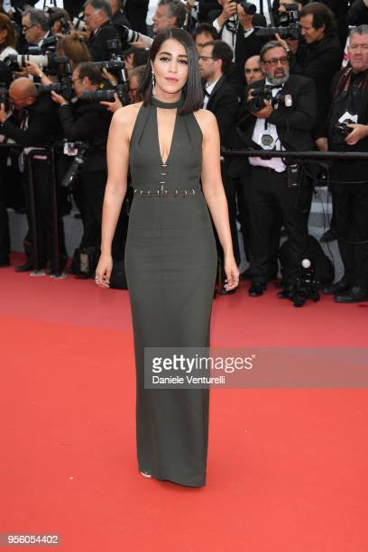 Actress Leila Bekhti attends the screening of 'Everybody Knows ' and the opening gala during the 71st annual Cannes Film Festival at Palais des...