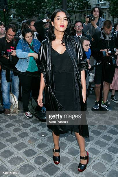 Actress Leila Bekhti attends the Vogue Foundation Gala 2016 at Palais Galliera on July 5 2016 in Paris France