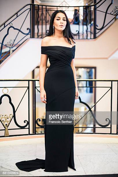 Actress Leila Bekhti	is photographed for Gala on May 11 2016 in Cannes France