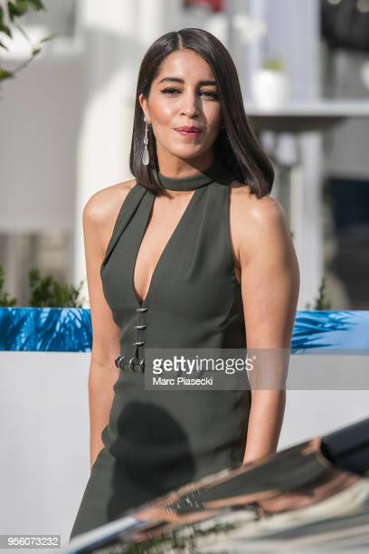 Actress Leila Bekhti is seen during the 71st annual Cannes Film Festival at on May 8 2018 in Cannes France