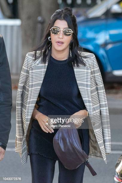 Actress Leila Bekhti is seen on September 30 2018 in Paris France