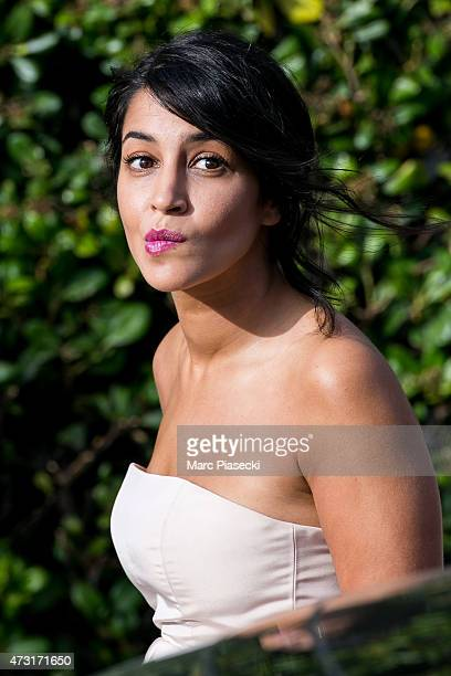 Actress Leila Bekhti is spotted at the Grand Hyatt Cannes Hotel Martinez during the 68th annual Cannes Film Festival on May 13 2015 in Cannes France