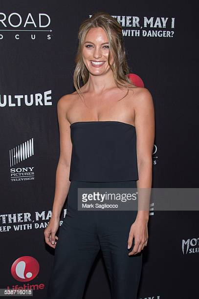 Actress Leila George attends the Mother May I Sleep With Danger New York Screening at Crosby Street Theater on June 7 2016 in New York City