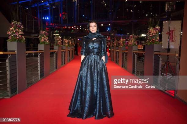 Actress Leila Hatami attends the 'Pig' premiere during the 68th Berlinale International Film Festival Berlin at Berlinale Palast on February 21 2018...