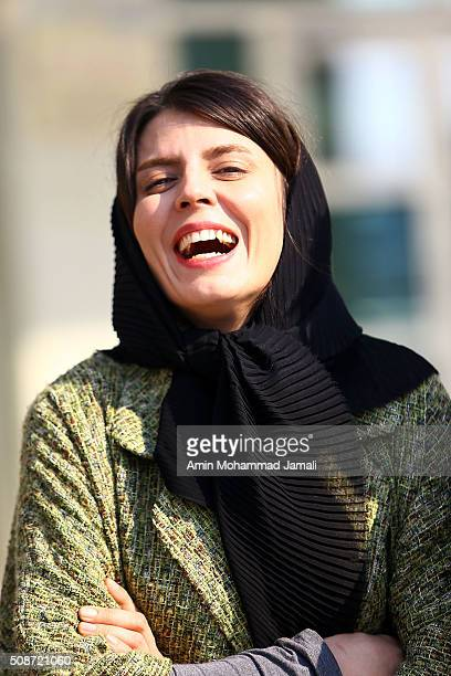 Actress Leila Hatami looks on during the Fajr Film Festival on February 6 2016 in Tehran Iran