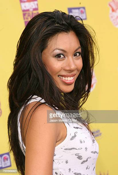 Actress Leilene Ondrade Arrives To The Comedy Central Roast Of Flavor Flav At Warner Bros Studios