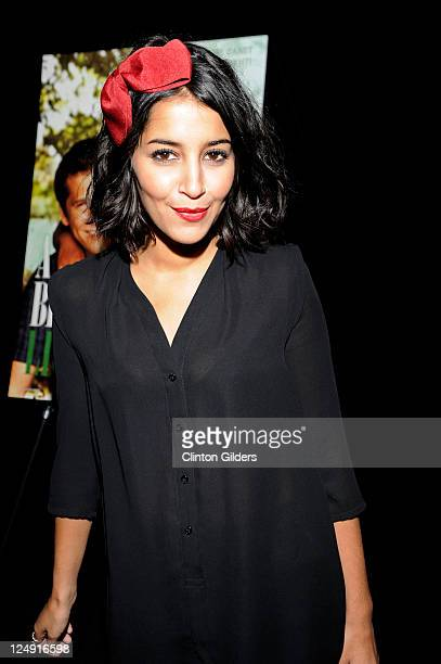 Actress Leïla Bekhti poses for the portrait at 'A Better Life' Premiere at TIFF Bell Lightbox during the 2011 Toronto International Film Festival on...
