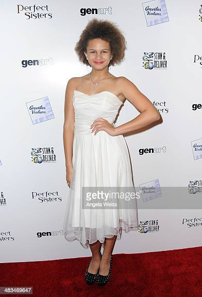 Actress Lela Brown arrives at the premiere of Gravitas Ventures' Perfect Sisters at the Landmark Theater on April 8 2014 in Los Angeles California