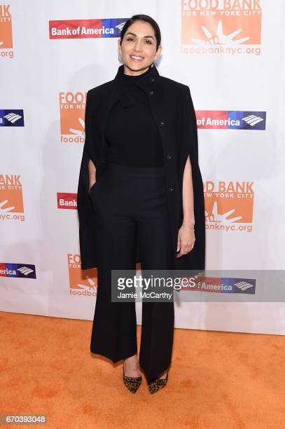 Actress Lela Loren attends the Food Bank for New York City CanDo Awards Dinner 2017 on April 19 2017 in New York City