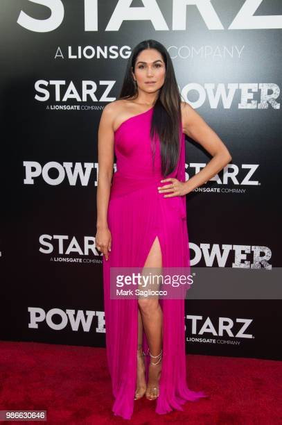 Actress Lela Loren attends the Power Season 5 Premiere at Radio City Music Hall on June 28 2018 in New York City