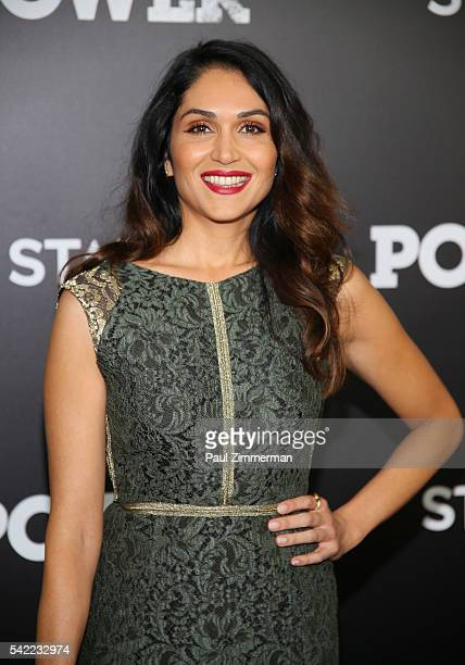 Actress Lela Loren attends the season three premiere of 'Power' on June 22 2016 in New York City