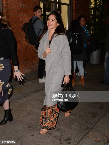 Actress Lela Loren is seen walking in Soho on April 27 2017 in New York City