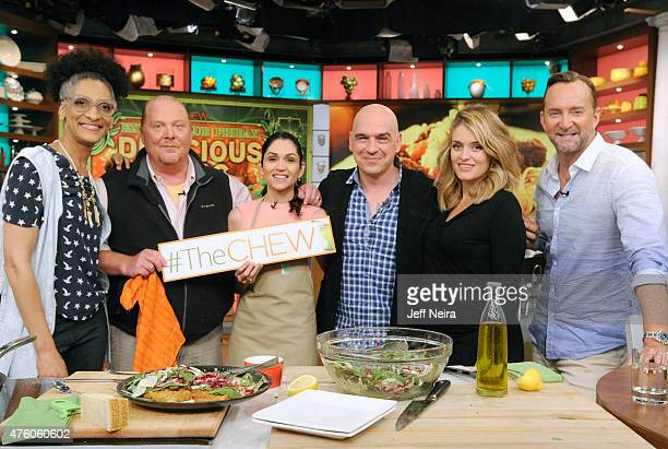 THE CHEW Actress Lela Loren is the guest Friday June 5 2015 on Walt Disney Television via Getty Images's The Chew The Chew airs MONDAY FRIDAY on the...