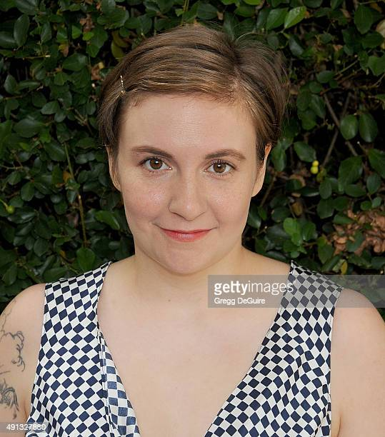 Actress Lena Dunham arrives at The Rape Foundation's Annual Brunch at Greenacres The Private Estate of Ron Burkle on October 4 2015 in Beverly Hills...