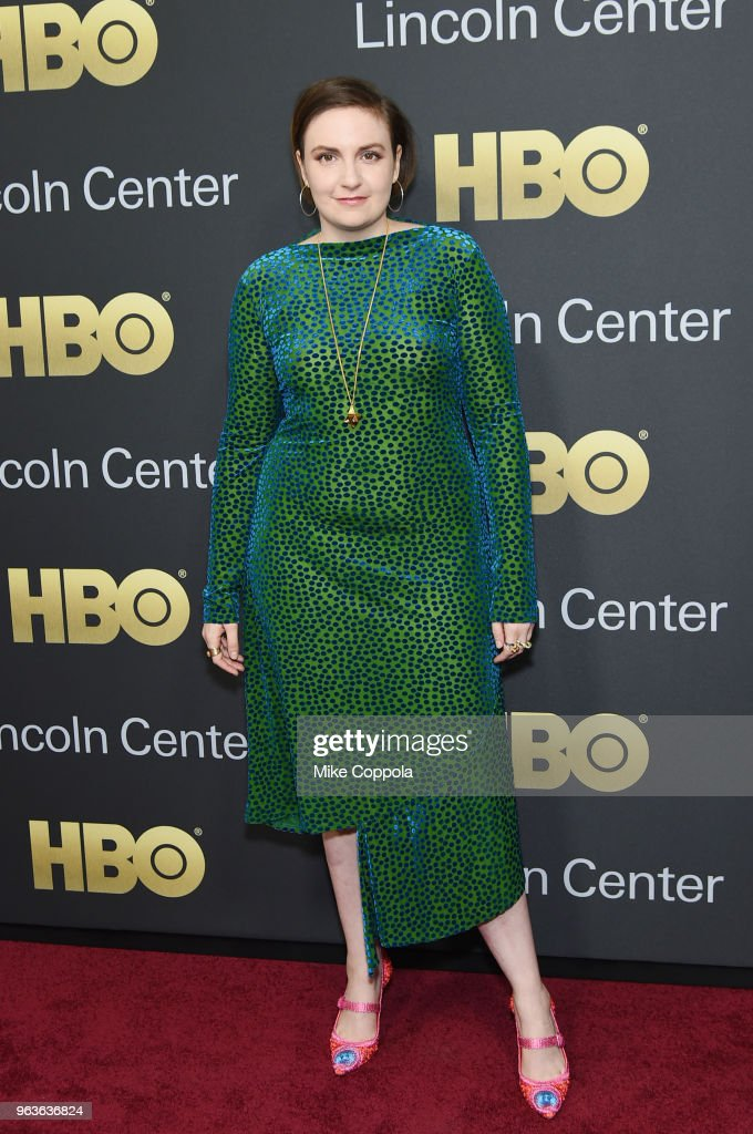 Actress Lena Dunham attends Lincoln Center's American Songbook Gala at Alice Tully Hall on May 29, 2018 in New York City.