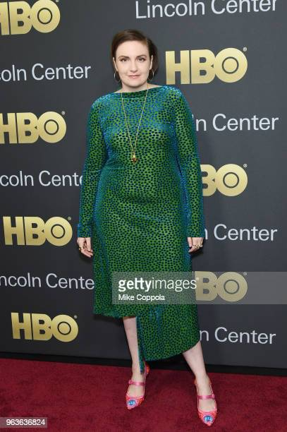 Actress Lena Dunham attends Lincoln Center's American Songbook Gala at Alice Tully Hall on May 29 2018 in New York City