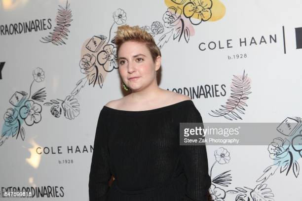 Actress Lena Dunham attends the 2nd Anniversary of Lenny In Partnership with Cole Haan of Lenny at The Jane Hotel on September 15 2017 in New York...