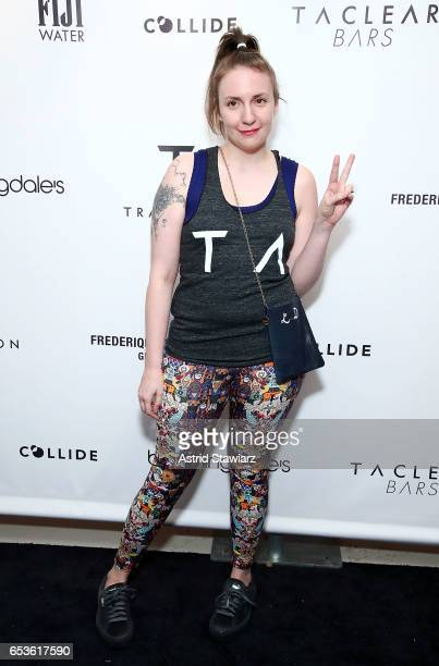 Actress Lena Dunham attends the celebration for the Tracy Anderson 59th Street studio on March 15, 2017 in New York City.