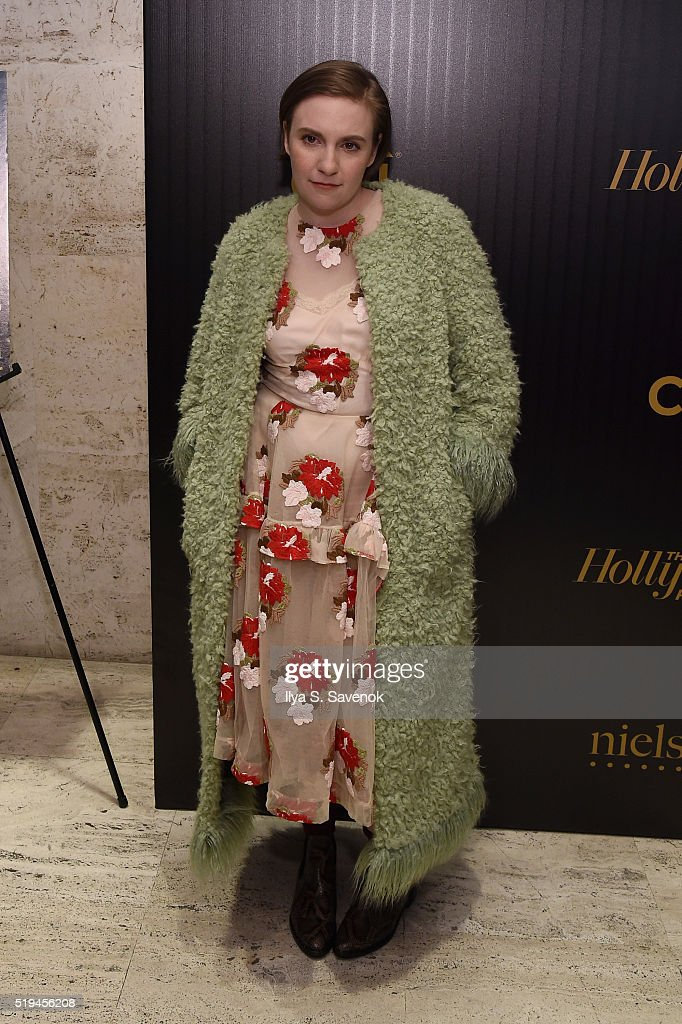 Actress Lena Dunham attends the Hollywood Reporter's 2016 35 Most Powerful People in Media at Four Seasons Restaurant on April 6, 2016 in New York City.