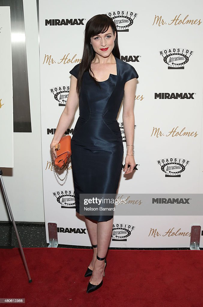 Actress Lena Hal attends the New York premiere of 'Mr. Holmes' at Museum of Modern Art on July 13, 2015 in New York City.