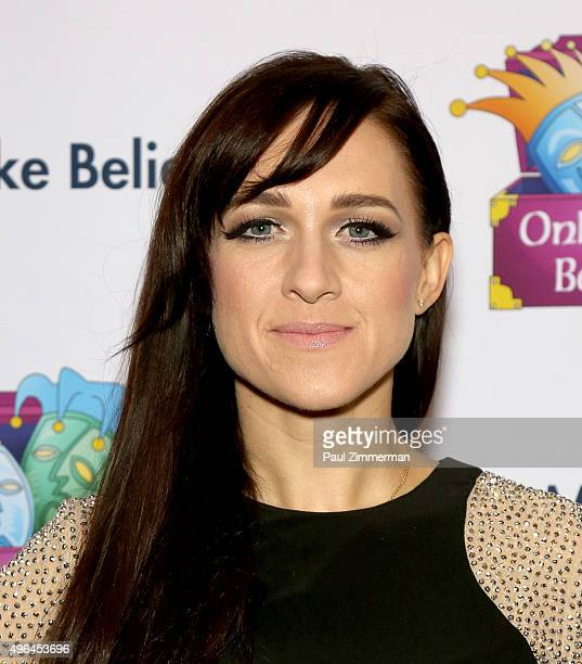 Actress Lena Hall attends 2015 Make Believe On Broadway Gala at St James Theatre on November 9 2015 in New York City