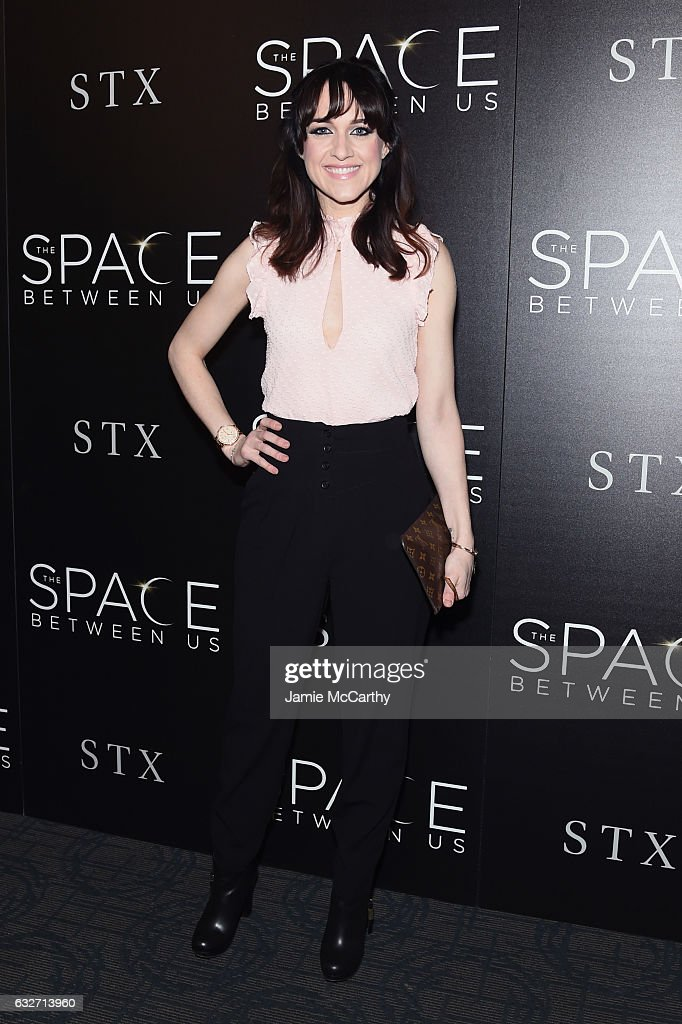 Actress Lena Hall attends a screening of 'The Space Between Us' hosted by The Cinema Society at Landmark Sunshine Cinema on January 25, 2017 in New York City.