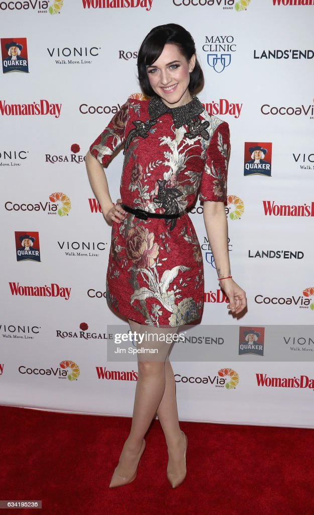 Actress Lena Hall attends the 14th annual Woman's Day Red Dress Awards at Jazz at Lincoln Center on February 7, 2017 in New York City.