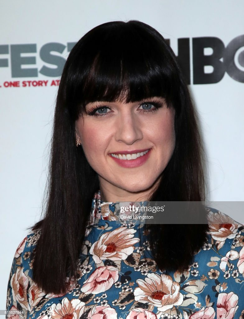 Actress Lena Hall attends the 2017 Outfest Los Angeles LGBT Film Festival centerpiece screening of 'Becks' at the DGA Theater on July 9, 2017 in Los Angeles, California.