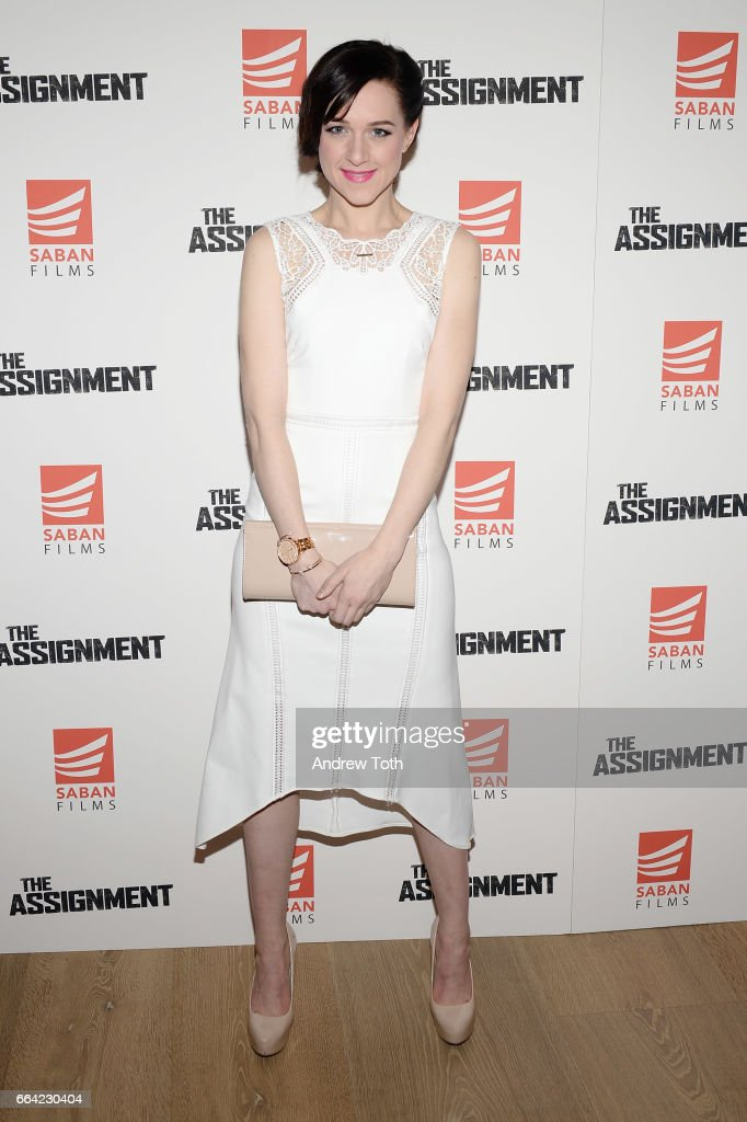 Actress Lena Hall attends 'The Assignment' screening at the Whitby Hotel on April 3, 2017 in New York City.