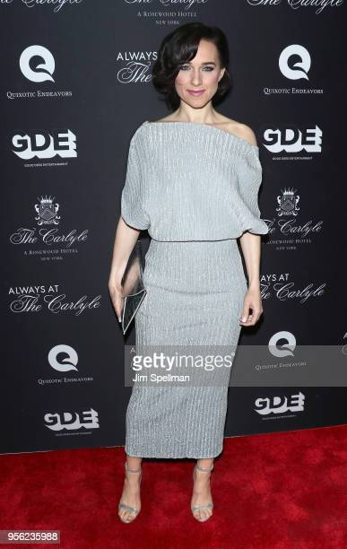 Actress Lena Hall attends the New York premiere of 'Always At The Carlyle' at The Paris Theatre on May 8 2018 in New York City