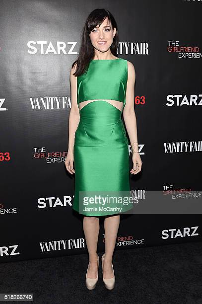 Actress Lena Hall attends the New York premiere of 'The Girlfriend Experience' at The Paris Theatre on March 30 2016 in New York City