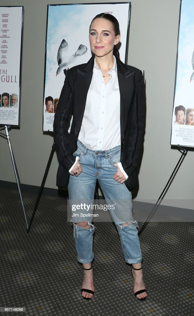 Actress Lena Hall attends the New York screening of 'The Seagull' at Elinor Bunin Munroe Film Center on May 10, 2018 in New York City.