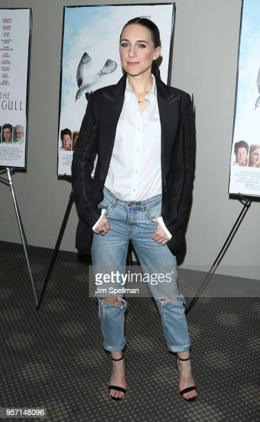 Actress Lena Hall attends the New York screening of 'The Seagull' at Elinor Bunin Munroe Film Center on May 10 2018 in New York City