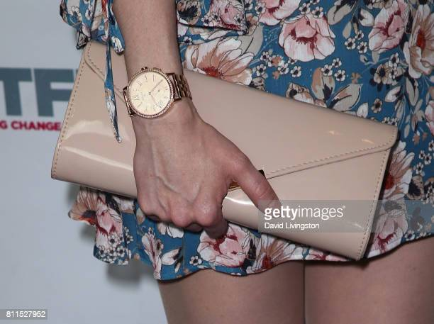 Actress Lena Hall purse detail attends the 2017 Outfest Los Angeles LGBT Film Festival centerpiece screening of Becks at the DGA Theater on July 9...